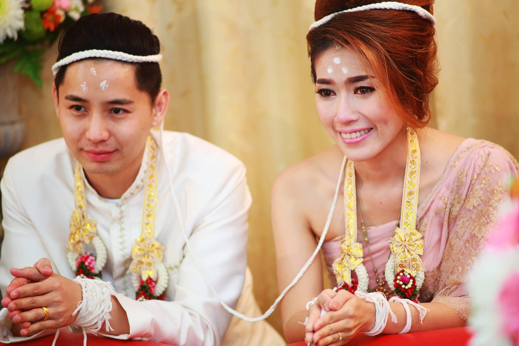 ภาพบรรยากาศในงานแต่งงาน